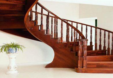 Cầu thang gỗ Kiền Kiền